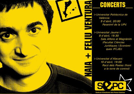 Concert de Feliu Ventura a la UA
