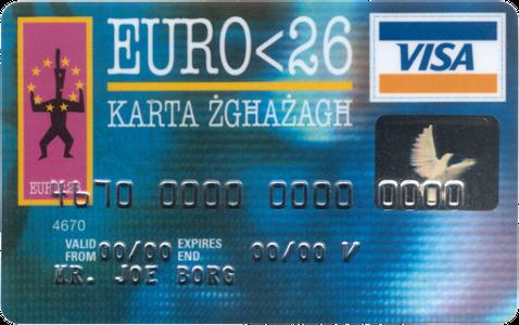 Carnet Jove Euro <26