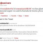 @ppcv @socialistesVal @comunicacioBLOC vos heu plantejat mai q és demencial seguir-vos amb la burrada de tweets q feu al dia? #politica20