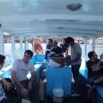 De pesca amb els companys de feina