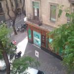 La vista des del balcó del meu pis