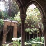 Clàustre de l'Esglèsia de Santa Ana, a la Ciutat Vella