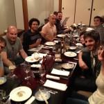 Sopant al Yashima amb els companys de feina