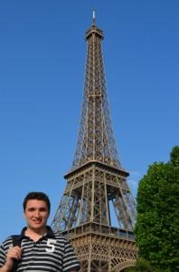 La Torre Eiffel als peus del Sena
