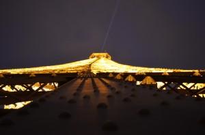 Torre Eiffel de nit