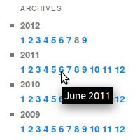 Llista dels arxius del blog de Monthchunks